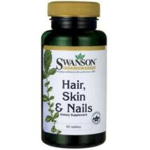 Swanson Haj, Bőr, Köröm Complex multivitamin tabletta