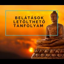 Belátások - letölthető online meditációs tanfolyam -