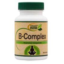 VITAMIN STATION B komplex tabletta - 60 db