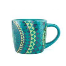 Yogi mug - Jógi bögre - jóga csésze - Kék Mandala