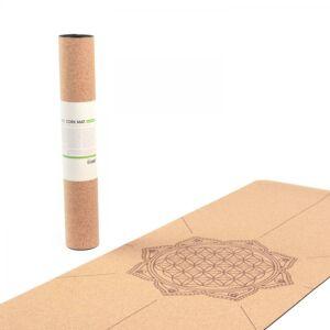 Bodhi jógaszőnyeg - parafa matrac - élet virága