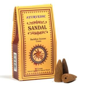 Visszaáramló - Ájurvédikus szantálfa füstölőkúpok