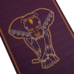 Design jógaszőnyeg BIG ELEPHANT, kétszínű, - Leela kollekció - 183x60 - 4,5MM