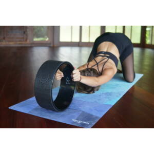 Yoga Design Lab Mandalás jógakerék - Mandala Night