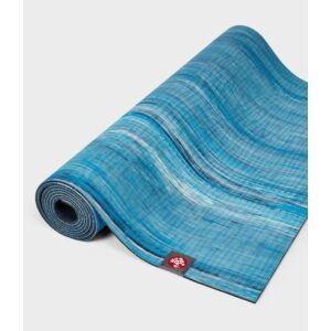 Manduka eko® lite yoga matrac- 4mm - dresden blue marbled- kék