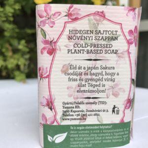 natural cseresznyevirágos szappan