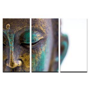 3 részes Buddha Design Vászonkép - Keret nélkül