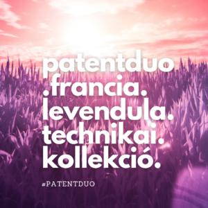 Női Technikai Jóganadrág, boka - Francia levendula - PATENTDUO