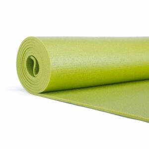 Bodhi Rishikesh 60 XL jógaszőnyeg, oliva zöld, 4,5 mm (200 x 60 cm) normál széles, extra hosszú
