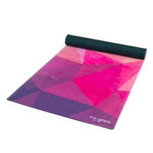 Yoga Design Lab Combo matrac, 3.5mm, Geo, lila-rózsaszín
