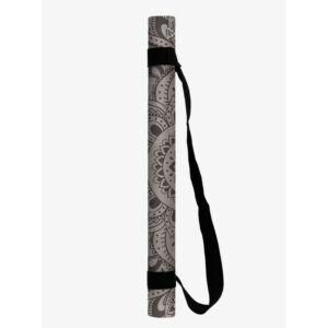 Yoga Design Lab Travel matrac 1mm Mandala Black, fekete