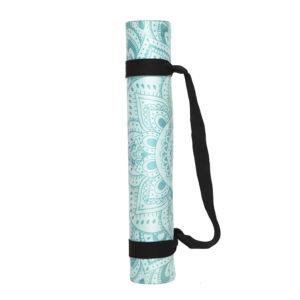Yoga Design Lab Travel matrac 1mm Mandala, Türkiz