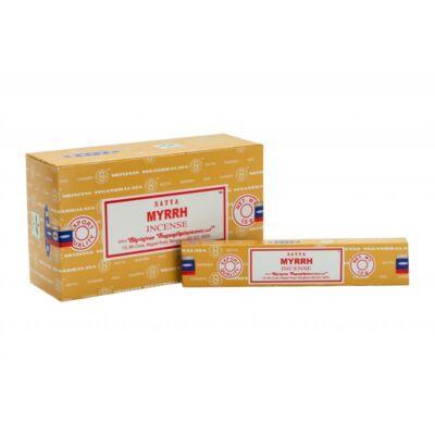 Füstölő - Satya Myrrh - mirrha