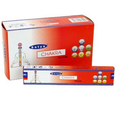 Füstölő - Satya Chakra, csakra