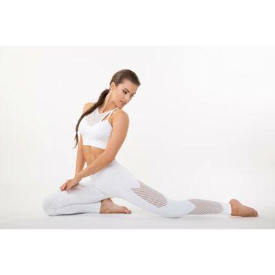 Fishbone leggings fehér - M