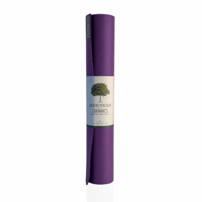 Jógaszőnyeg Jade Harmony - természetes gumi- lila