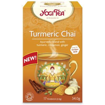 Yogi tea - Turmeric Chai - Kurkumás tea