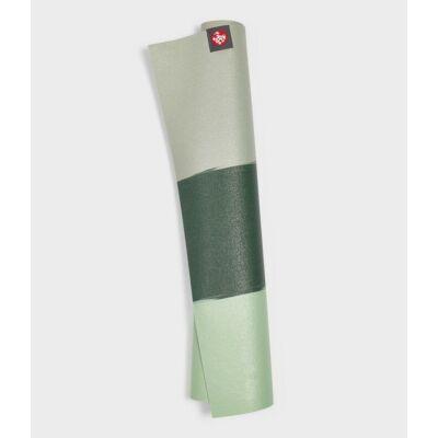 Manduka eKO SuperLite utazó jógamatrac 1,5 MM- green ash stripe - zöld