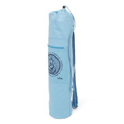 Bodhi Jóga táska Ganésha mintával - jóga zsák pamut, kék