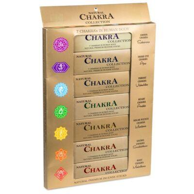 Natural Chakra - 7 Chakra Füstölő Kollekció Díszdobozban