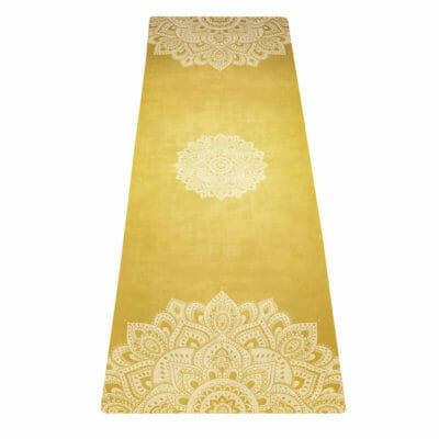 Yoga Design Lab Combo matrac, 3,5 mm, Mandala Gold, Arany, Sárga