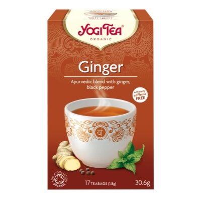 Yogi tea -  Ginger - Gyömbéres tea