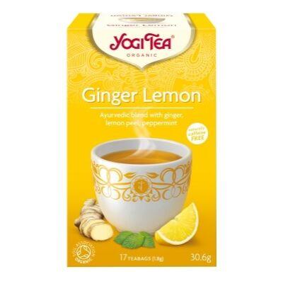 Yogi tea -  Ginger Lemon - Gyömbér - Citrom