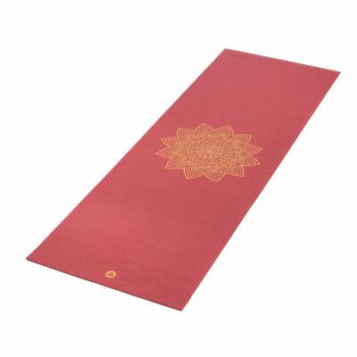 Yoga matrac RISHIKESH Premium 60  burgundy/bordó