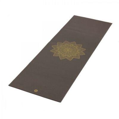 Yoga matrac RISHIKESH Premium 60 taupe/ sötét barna