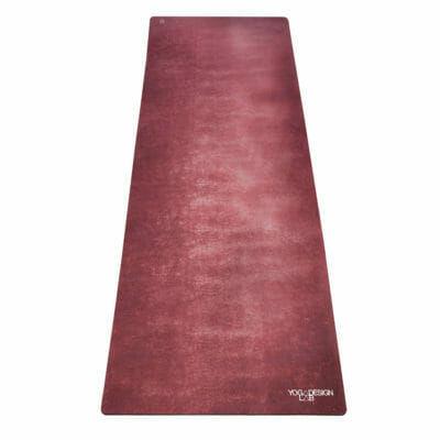 Yoga Design Lab Travel matrac 1 mm Aegean Plum, Bordó