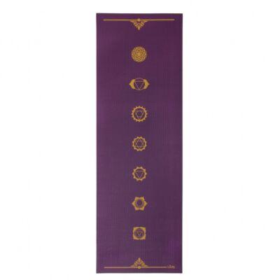 Bodhi Leela 4mm jógamatrac - Csakra