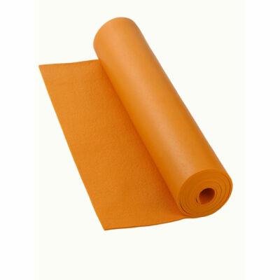 Bodhi Rishikesh XXL, extra széles és hosszú jóga szőnyeg, 200 x 80 cm, narancs