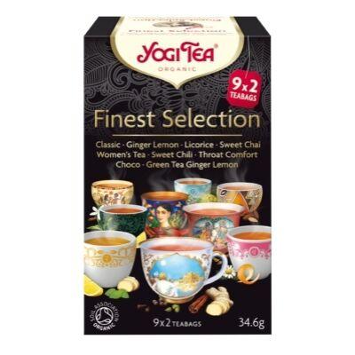Yogi tea - Finest selection - Best seller válogatás