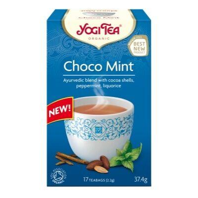 Yogi tea - Choco Mint - Csokoládé - Menta tea