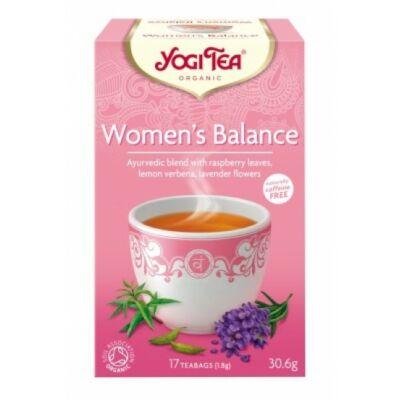 Yogi Tea - Women's Balance - Női egyensúly tea, bio