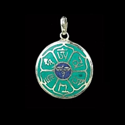 Buddha szeme medál (lánc nélkül)