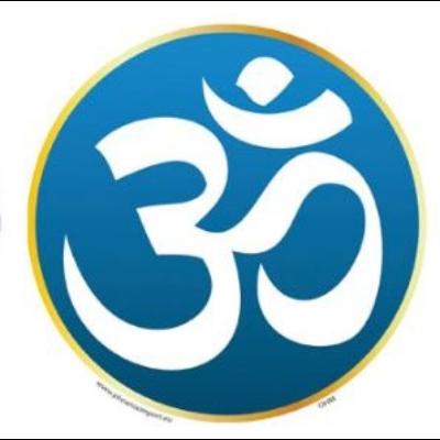 Ablakmatrica Om szimbólum 10,5cm