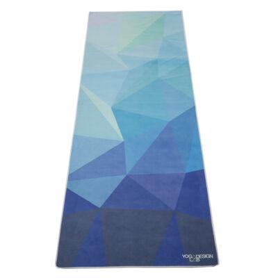Yoga Design Lab törölköző Geo Blue