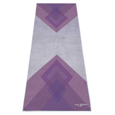Yoga Design Lab törölköző Collage Purple