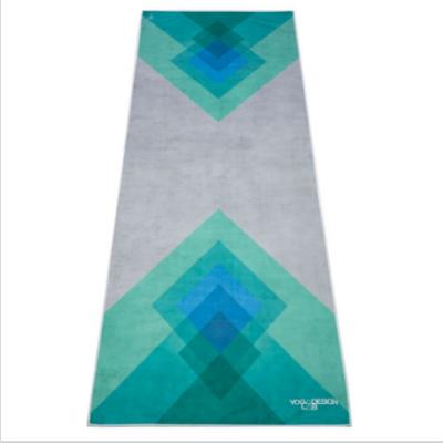 Yoga Design Lab törölköző Collage Green