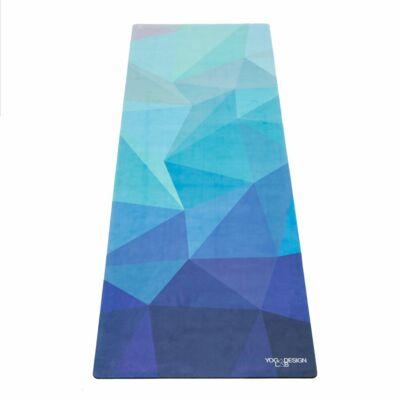 Yoga Design Lab Combo matrac, 3,5mm, Geo Blue, Türkiz