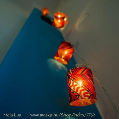Lámpafüzér geometrikus (10 égős)