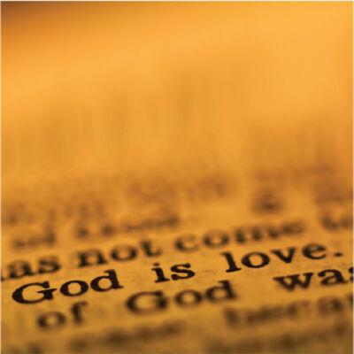 Hűtőmágnes - God is Love