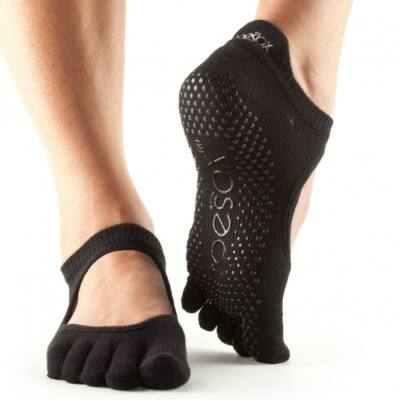 Jógazokni Bellarina Fekete - Toesox - M - Full toe