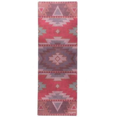 Yoga Design Lab Travel matrac 1mm Tribal Coral