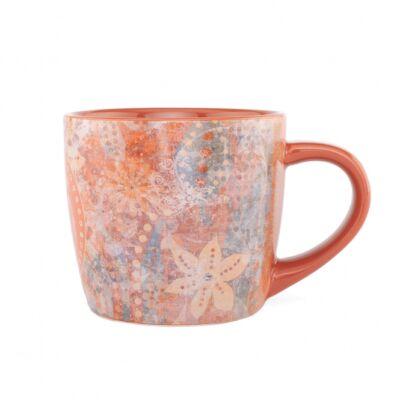 Yogi mug - Jógi bögre - jóga csésze -Rusty Red, 320 ml